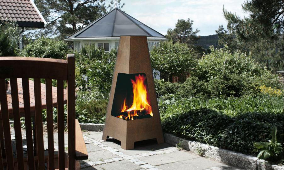 Barbecue j tul terrazza po les et foyers passion for Barbecue contemporain exterieur
